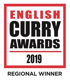 english curry awards 2019 OFFICIAL regional winner logo badge